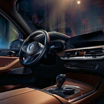 2019 BMW X5 interior steering wheel