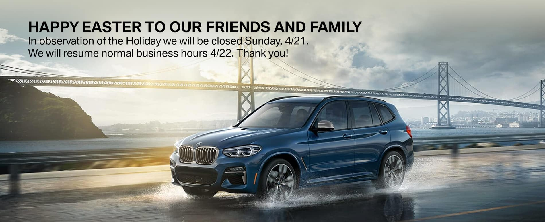 east bay bmw easter hours