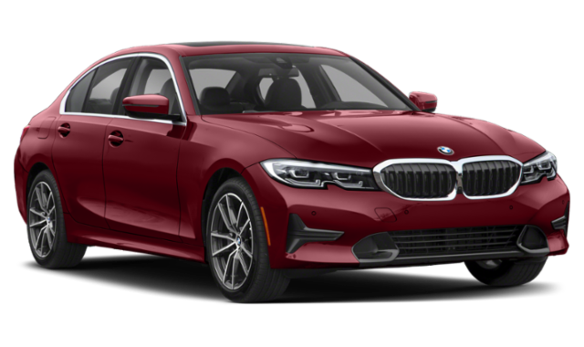 Red BMW 3 Series Sedan