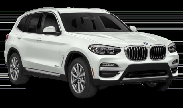White BMW X3