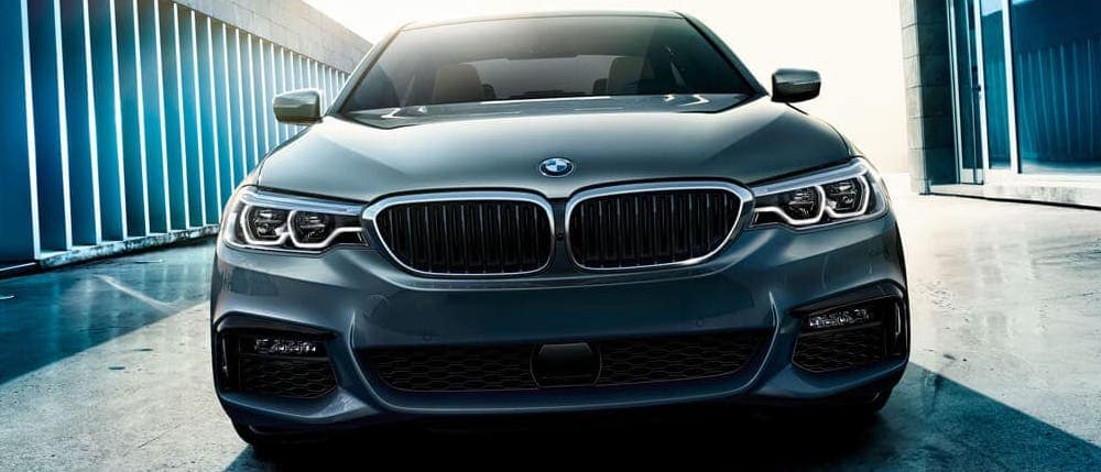 2020 BMW 5 Series sedan in gray