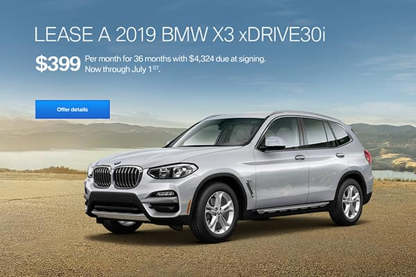 bmw lease offer x3