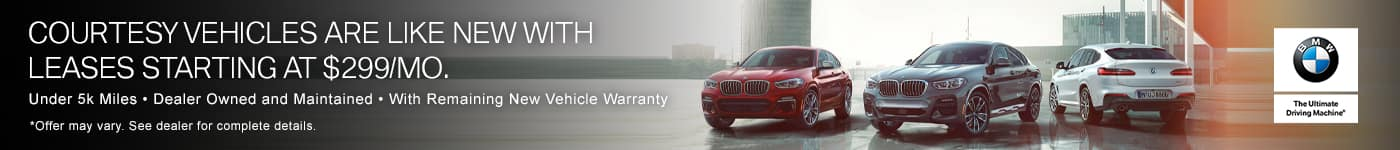 Courtesy Vehicle Lease Offers   East Bay BMW