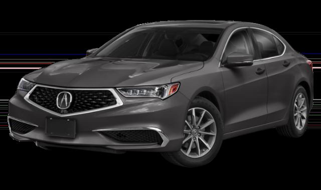 Silver Acura TLX