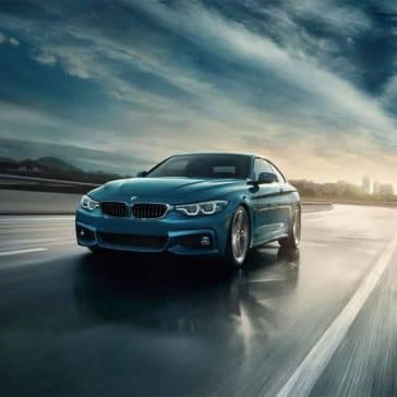 2019 BMW 4 Series Driving