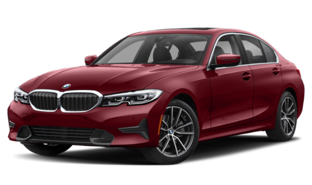 red 2020 BMW 3 Series