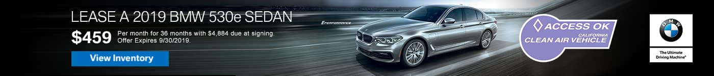 east bay bmw 530e lease offer