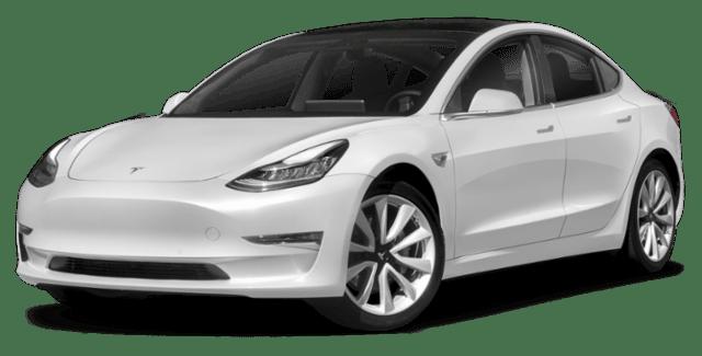 2019 Tesla Model 3 White