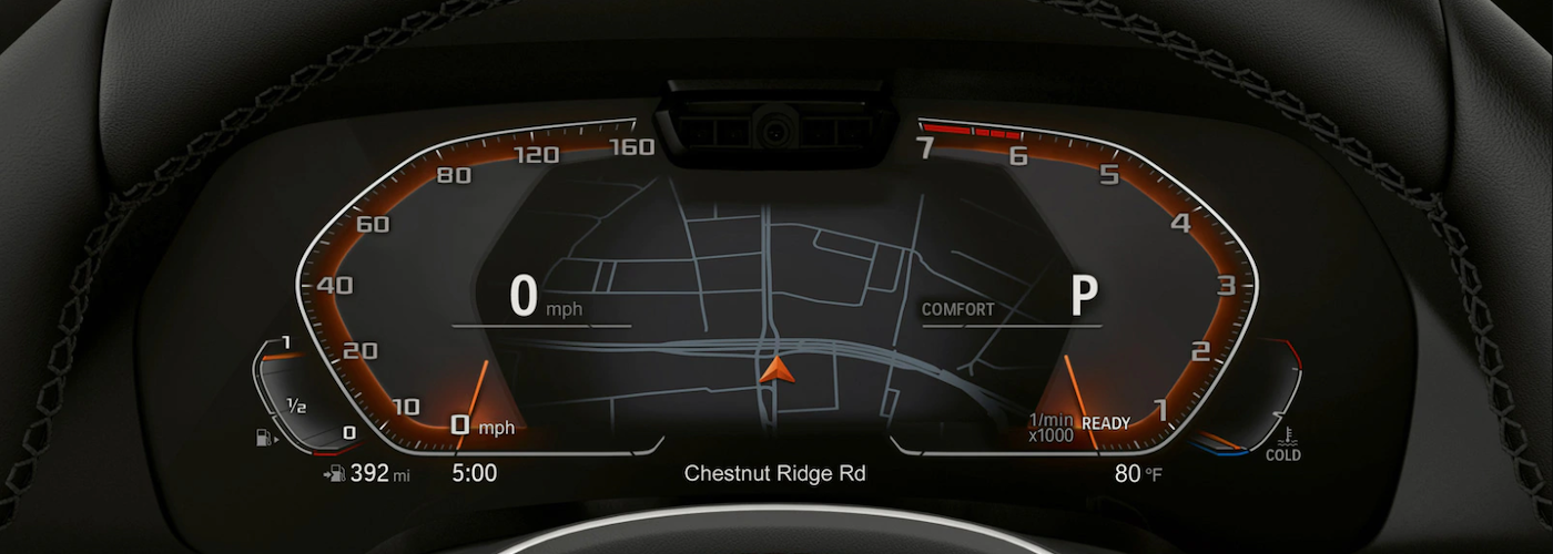 2020 bmw x5 interior dashboard close up