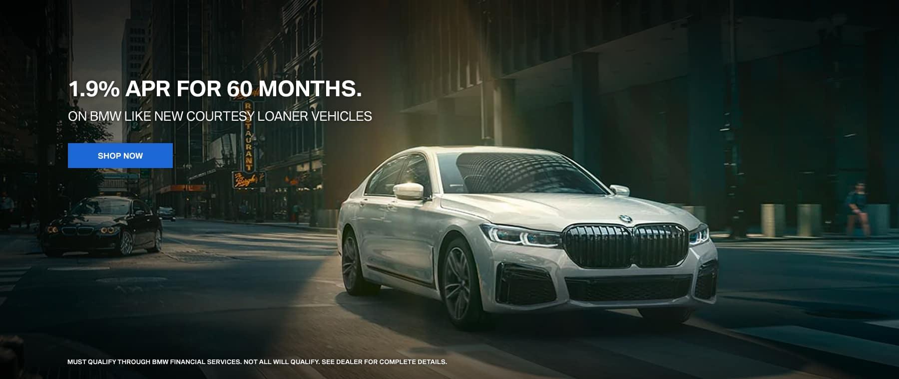 Courtesy Vehicle Offer