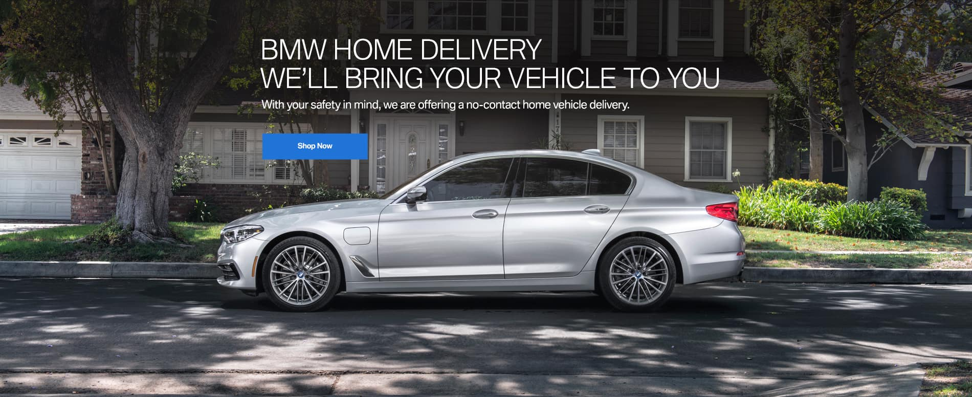 we'll bring your vehicle to you