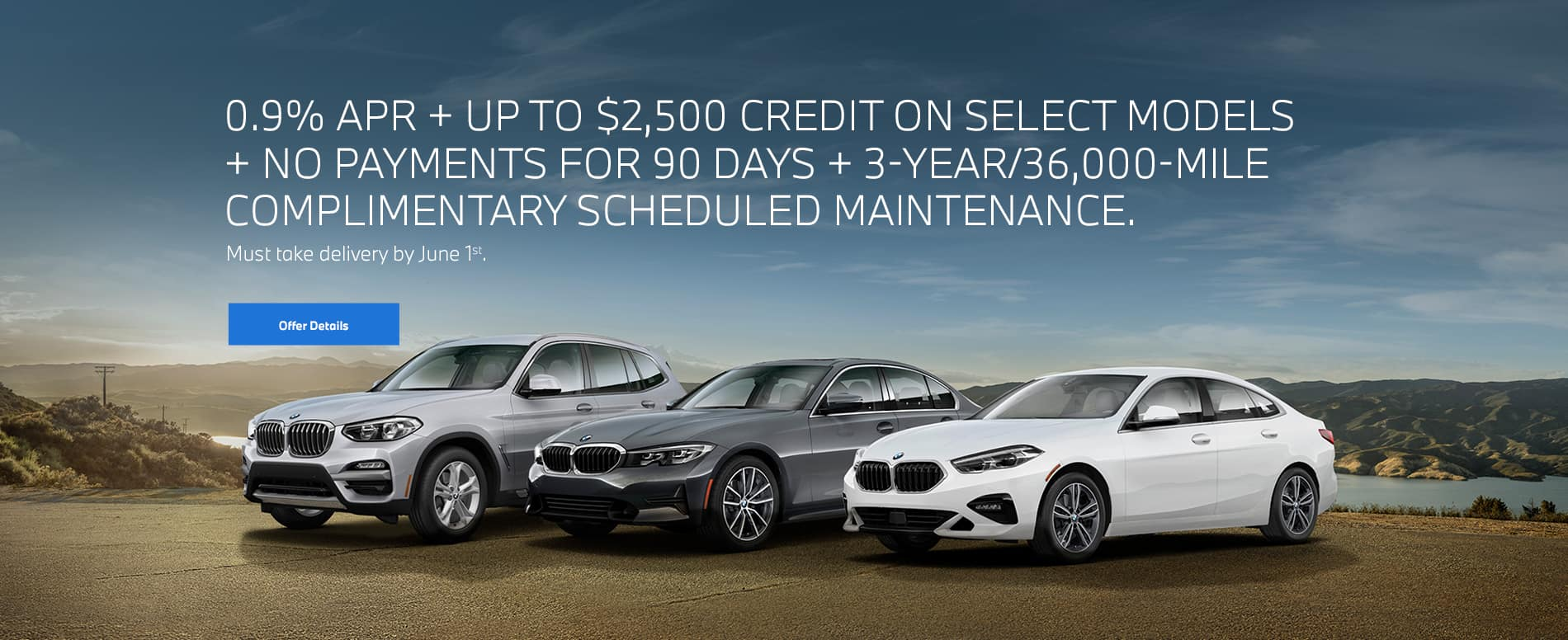 BMW Quad offer May 2020