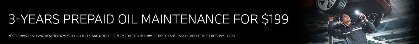 Oil Maintenance- Service