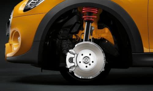 MINI Cooper active brakes