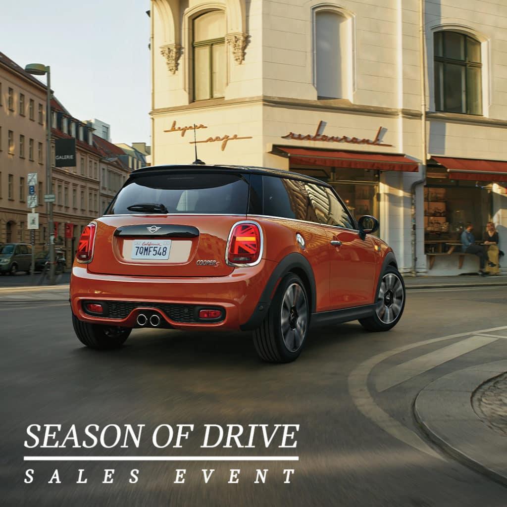 SEASON OF DRIVE SALES EVENT