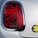 2022 mini cooper electric back rear corner