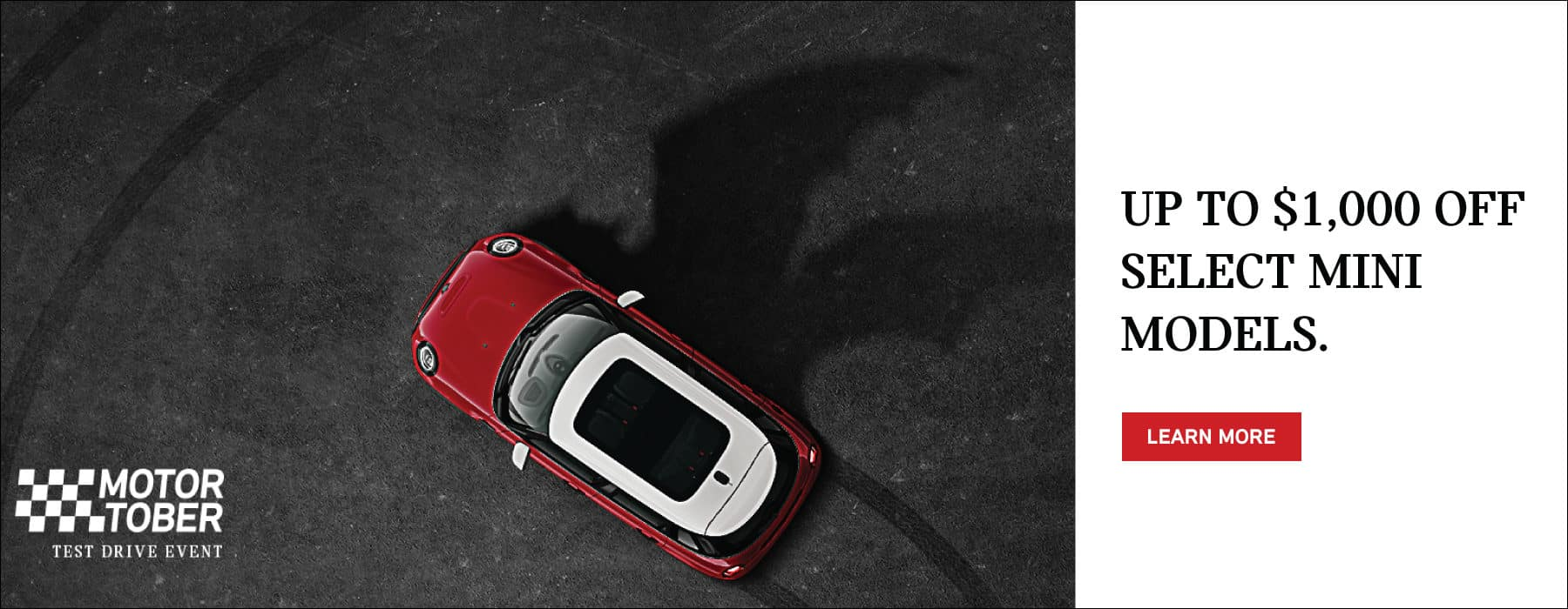 UP TO $1,000 OFF SELECT 2022 MINI MODELS.