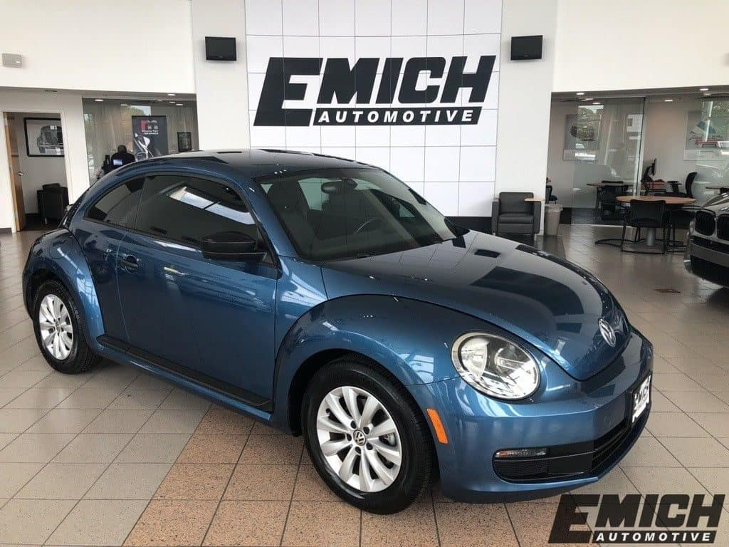 Pre-Owned 2016 Volkswagen Beetle
