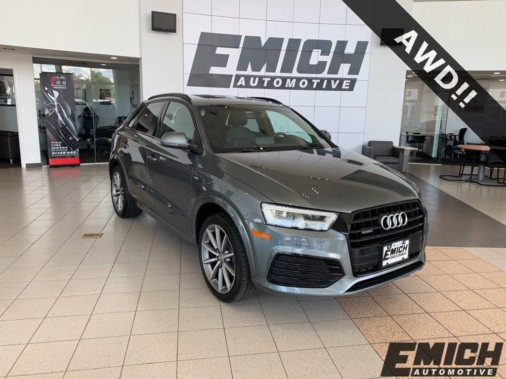Gently used 2017 Audi Q3 AWD for sale