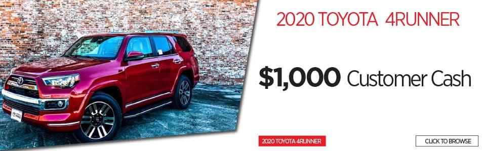 2020 Toyota 4 Runner