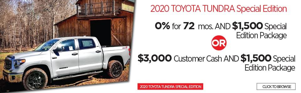 New 2020 Toyota Tundra