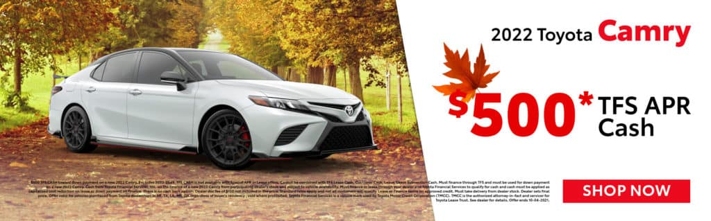 2022 Toyota Camry Offer in Paris, TX
