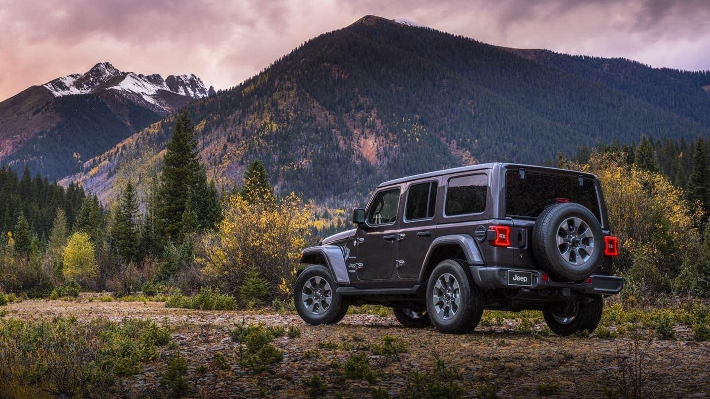 2019 Jeep Wrangler Sahara exterior