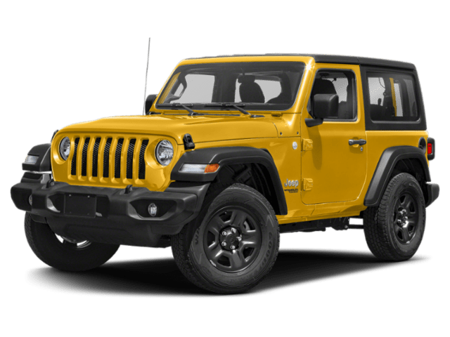 2019 Jeep Wrangler Sport in yellow