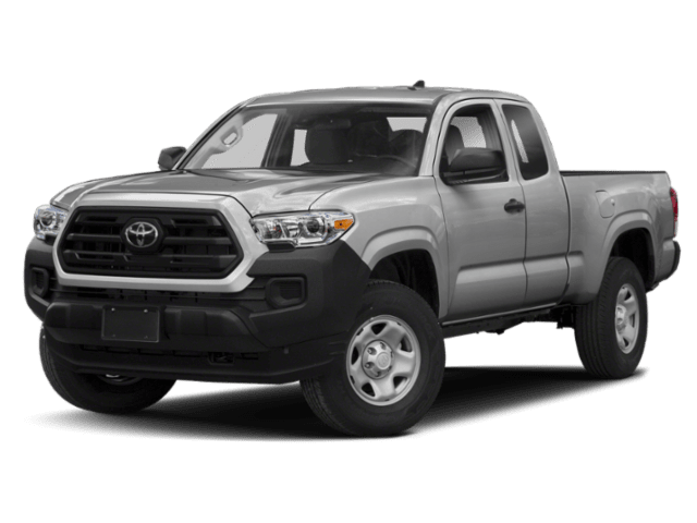 2019 Toyota Tacoma in silver