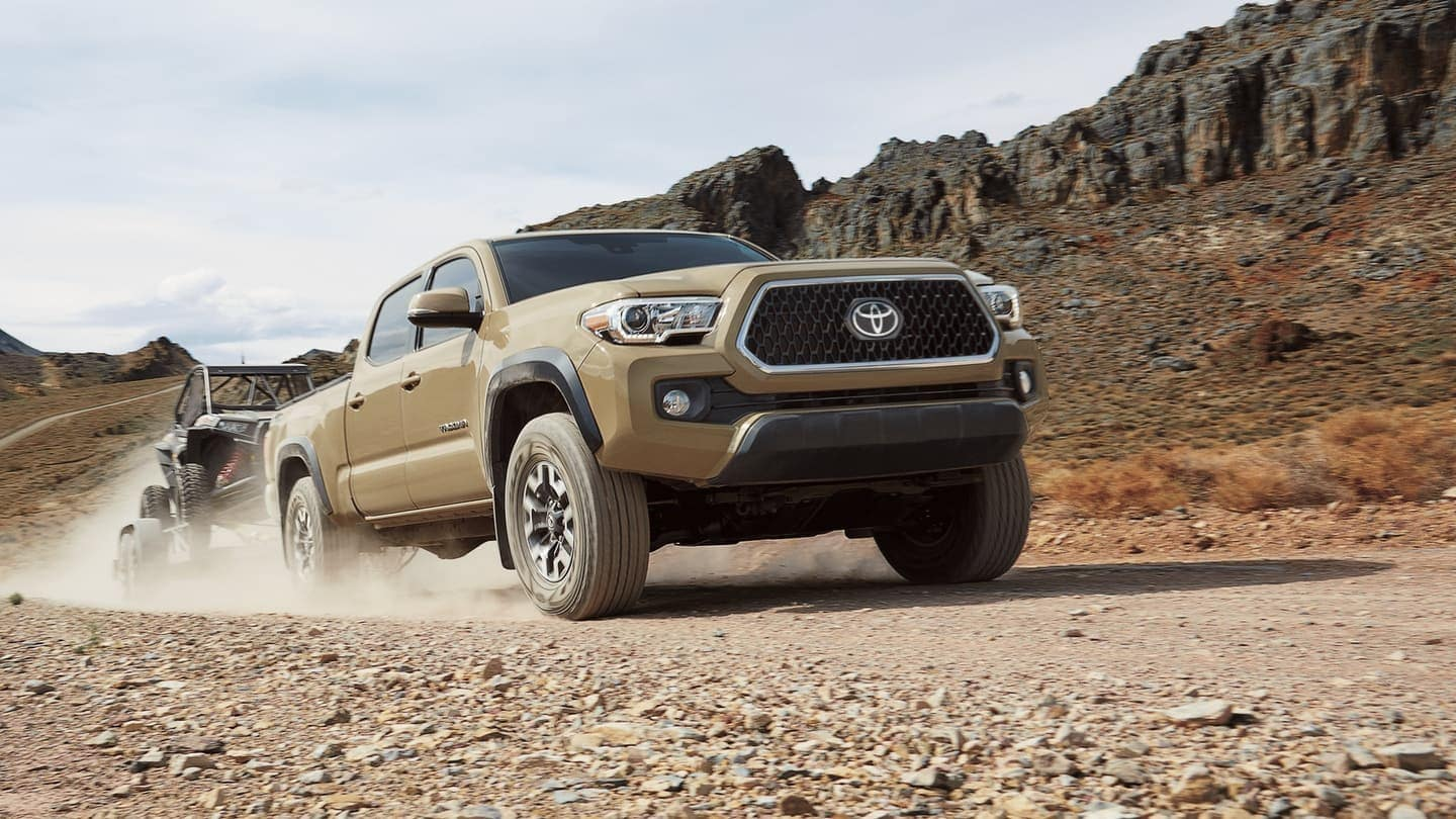 2019 Toyota Tacoma towing atv