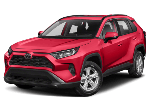 2019 Toyota RAV4 in red