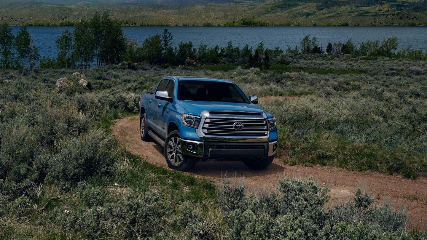 2020 Toyota Tundra exterior in blue