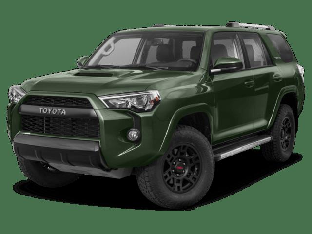 2020 Toyota 4Runner in forest green