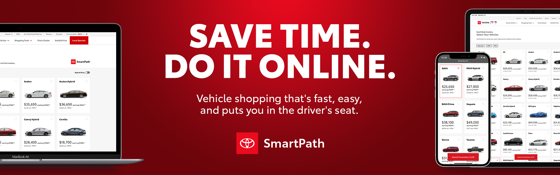 Save Time, Do It Online