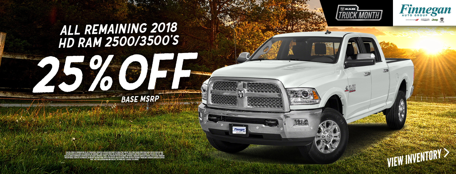 All remaining 2018-HD-RAM-2500-3500s