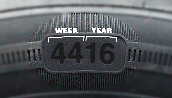 where is the manufacturing date on a car tire