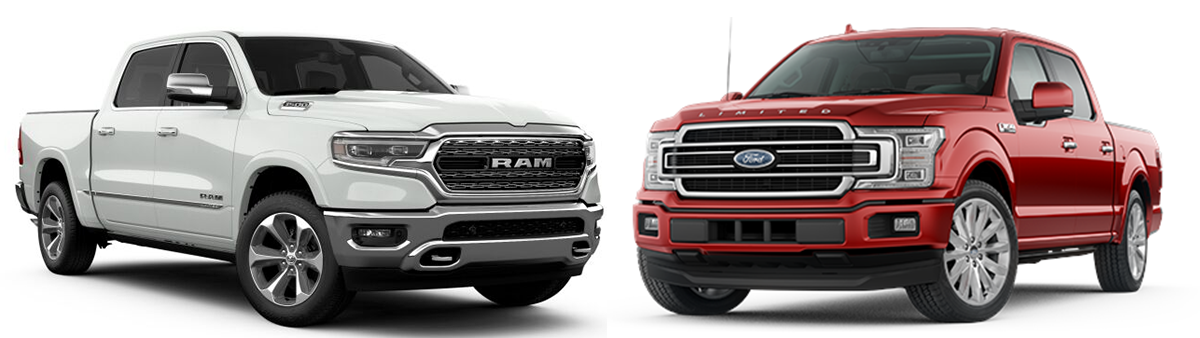 ram 1500 vs ford f150 2019 comparison
