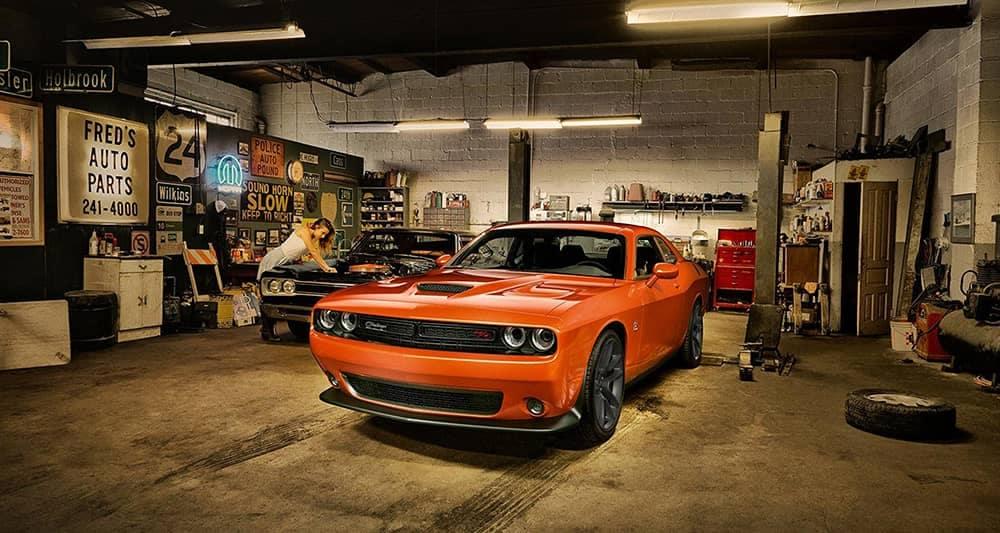 2020 Dodge Challenger In Garage