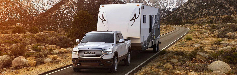 2020 Ram 1500 Towing Trailer In Desert