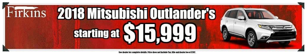 February Mitsubishi Banner