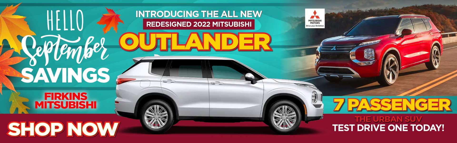 INTRODUCING the New Redesigned 2022 Mitsubishi Outlander - Test Drive One Today!