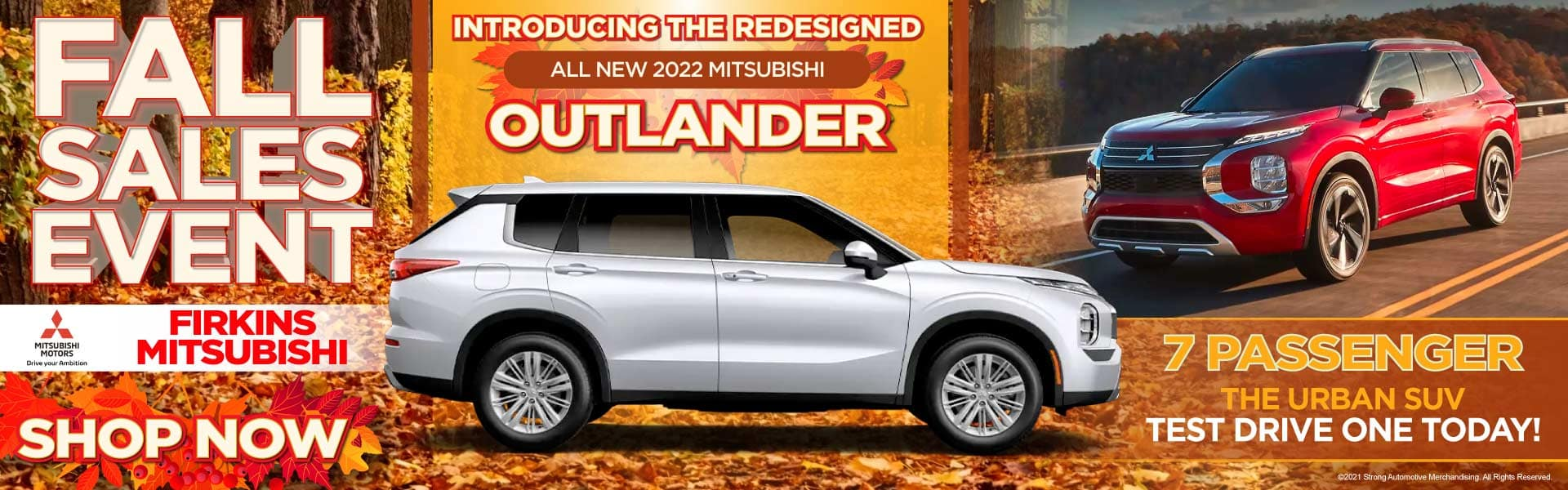 Introducing the Redesigned all New 2022 Mitsubishi Outlander - Test Drive One Today!