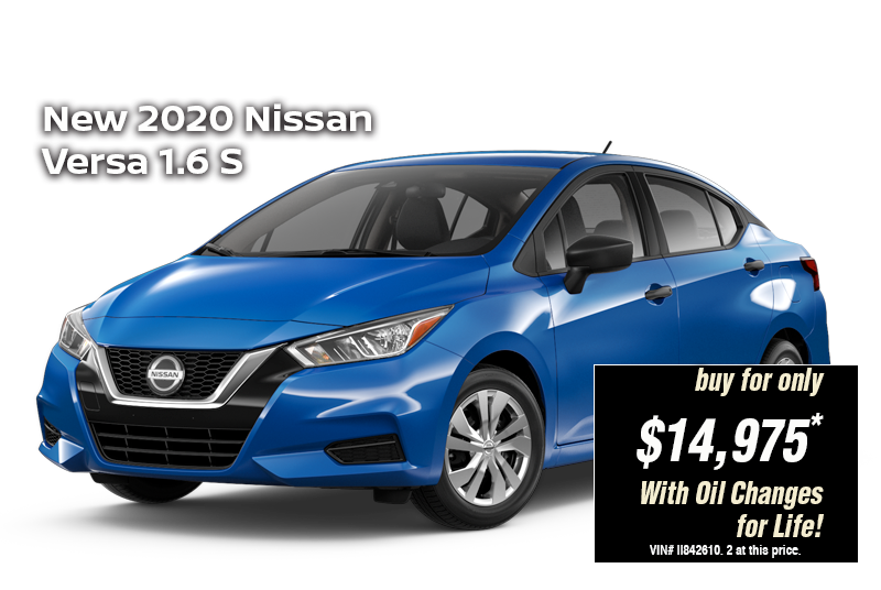 2020 Nissan Versa Specs Prices And Photos First Team Nissan