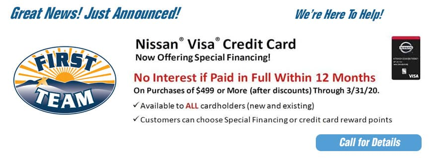 nissan credit