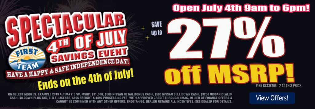 Nissan-final-days-4th-July-June-27%--off-slide