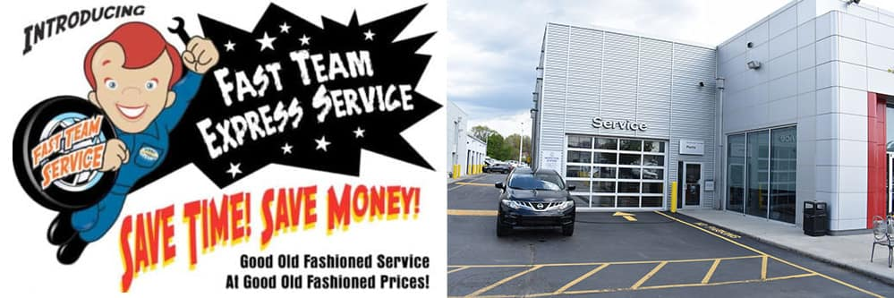 Nissan-fast-team-service-entrance