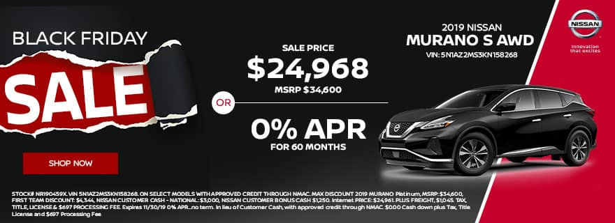 2019 Nissan Murano Special