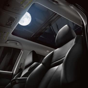 Nissan Rogue Interior Night