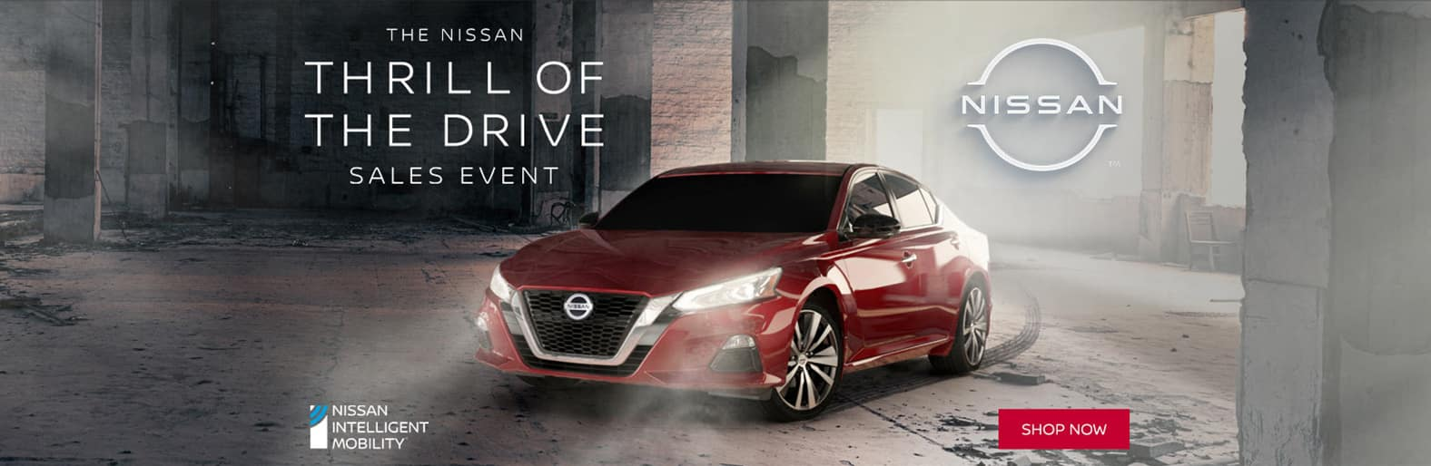 The Nissan Thrill of the Drive Sales Event. Shop now.