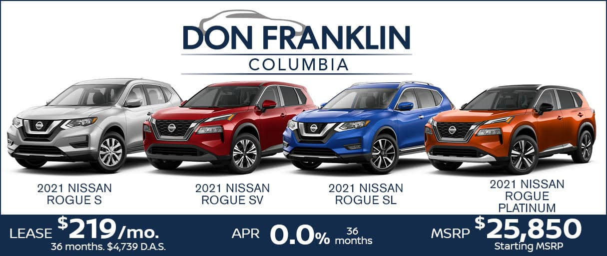 Rogue Lease Sale $219 a month for 36 months
